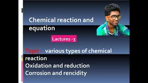 types of chemical reaction in hindi class 10