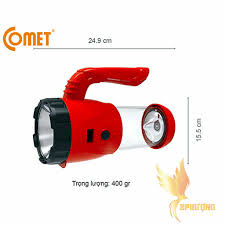 Đèn Pin Sạc Led Comet CRT22