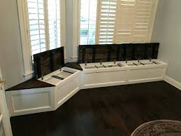 Kitchen Bench Seating Designs Tips Table With Built In How To Build  Storage. Kitchen Island With Built In Bench Seating Nook Plans Corner.