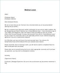 Medical Leave Extension Letter Format Theunificationletters Com