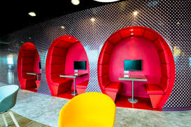 creative google office tel. 24 Creative Features That Will Improve Productivity At The Office : Small Private Spaces For Talking Google Tel V
