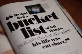 laura carney on my essay my dad had a bucket list is laura carney on my essay my dad had a bucket list is in the goodhousemag pick one up today