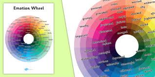 Emotion Wheel Emotion Wheel Feelings Activity Sen Aid