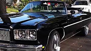 1975 Convertible Chevy Caprice 24 inch DUB Bellagio Califor - YouTube