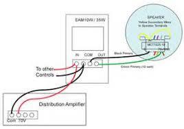 speaker volume control wiring diagram images 70v volume control wiring diagram 8 ohm to 70 volt