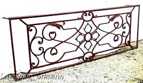 wrought iron wall panels decorative exotic metal fence gate