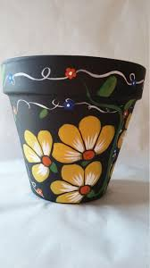 Designs For Flower Pot Painting 25 Simple Easy Flower Pot Painting Ideas 31 Flower Pot
