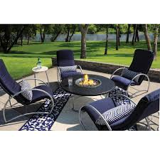 modern patio fire pit. Homecrest Cirque Fire Pit Chat Patio Table Modern 6