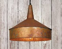 rustic pendant lighting fixtures. copper pendant light rustic vintage lighting country primitive decor farmhouse fixtures l