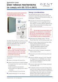 Door Opening Mechanism Design Door Release Mechanisms Manualzz Com