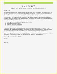 10 Cover Letter For A Police Officer Resume Samples
