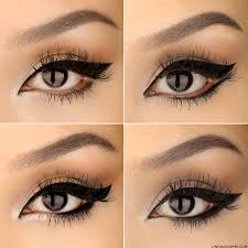 not all cat eyes are created equal the thickness and shape of the line bring attention to diffe parts to the eye essentially reshaping it