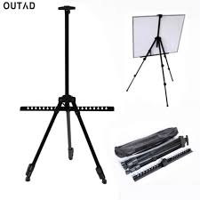 outad artist telescopic field studio painting easel tripod display stand portable adjule outdoor indoor paint stand