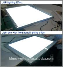 led light box diy factory magnetic panel acrylic slim led light box photography for display