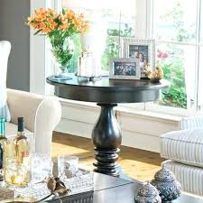 end table decorating ideas round side table in traditional tables and end decor decorations ideas