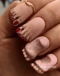 Nail Artist Creates Creepy Feet Fingernails And They Look