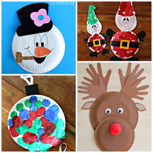Festive Christmas Crafts For Kids  Tons Of Art And Crafting Ideas Christmas Crafts For Preschool