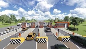 Контрольно пропускной пункт КПП для платных автодорог  Контрольно пропускной пункт КПП