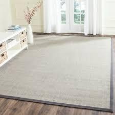 safavieh natural fiber marble grey sisal area rug 11 x 15