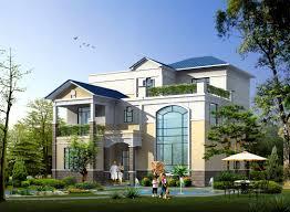 Metal Frame Houses Prefabricated House Prefabricated Rural Villa With Light Steel Frame