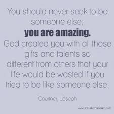 Love Quotes Never Seek To Be Someone Else You Are Amazing Unique You Are Amazing Quotes