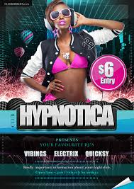 club flyer templates hypnotica flyer template flyerheroes pinterest flyer template