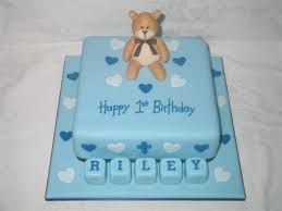 Baby Boy Cake Ideas For First Birthday 1st Designs Wishes With Name
