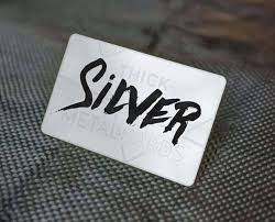 Stainless Steel Business Cards This Is A Real Thing Stainless Steel Business Cards