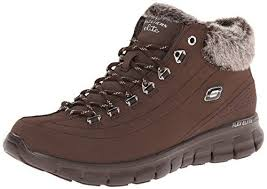 sketchers snow boots. skechers women\u0027s synergy snow boot,chocolate,8 m us http:// sketchers boots