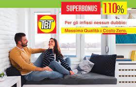 Superbonus 110 Infissi TBT Ravenna - Massima qualità a costo zero