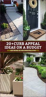 20+ Easy DIY Curb Appeal Ideas On A Budget That Will Totally Transform Your  Home | Diy curb appeal, Garden diy on a budget, Curb appeal