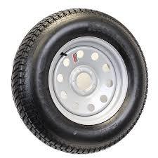 F78 14 Conversion Chart Trailer Tire On Rim F78 14 14 In St 14 In 5 Lug Bolt Wheel Silver Gray Modular