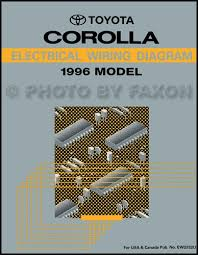 1996 toyota a c installation manual original corolla tercel paseo 1996 toyota corolla wiring diagram manual original