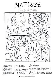 Image Result For Matisse Shapes Color Page Sketches Matisse Art