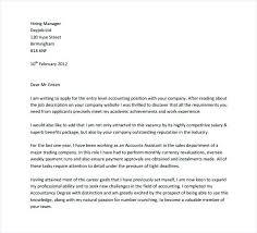 Cover Letter For Entry Level Job Entry Level Cover Letter Cover