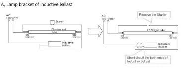 how to install led tube light? 2 electronic ballast