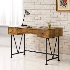 mid century design home office computer writing desk with drawers free today com 19741220