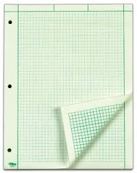 com tops engineering comtion pad 200 sheets 35502 graph paper pads office s