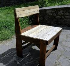 Fantastic chairs make out from pallet wood:
