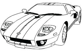 Car Coloring Pages Printable Race Car Coloring Pages For Kids A