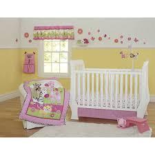 sunny safari 4 pc baby girl cot bedding