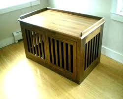 furniture style dog crates. Mission Dog Crate End Table Hardwood Furniture Style Tables Large .  Crates