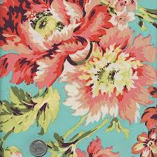 1 Yard : Amy Butler LOVE Bliss Bouquet AB50 Teal - Designer Quilt ... & 1 Yard : Amy Butler LOVE Bliss Bouquet AB50 Teal - Designer Quilt Fabric  Floral Peach Adamdwight.com