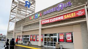 why a wacky is ing up the remains of toys r us