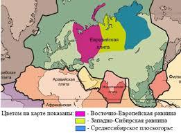 Геологическое строение и рельеф Евразии