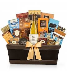 napa estates chardonnay luxury gift basket wine baskets napa s finest chardonnay meets perfect pairings in this luxury gift her