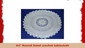 full size of 54 tablecloth inch square linen x 96 round hand crochet kitchen enchanting