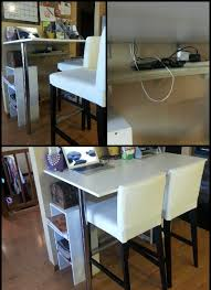 diy office desk ikea kitchen. diy kitchen bar height breakfast cheap table and legs from ikea attach diy office desk