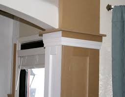 Column Molding Ideas Remodelaholic Living Room Update 4 Installing Wainscoting And