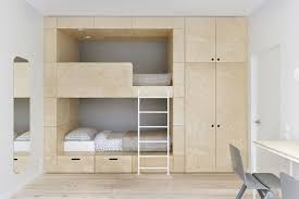 small room furniture. This Design Encapsulates Two Bunk Beds Into A Wall Unit, Perfect For Tucking The Entire Structure Corner Of Small Room. Room Furniture